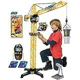 DICKIE Kran Giant Crane Baukran 100 cm ferngesteuert mit Zubehör Spielkran NEU