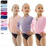 Girls Ballet Dance Knitted Crossover...