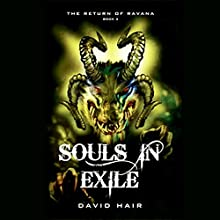 Souls in Exile: The Return of Ravana, Book 3 (       UNABRIDGED) by David Hair Narrated by Samrat Chakrabarti
