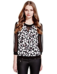 Limited Edition Animal Print Blouse