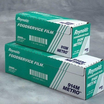 """24"""" Metro Light-Duty PVC Film Roll with Cutter Box in Clear"""