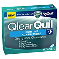 Vicks QlearQuil Nighttime Allergy Relief 48 Count