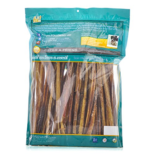 supreme bully sticks by best bully sticks all natural dog treats animals pet supplies pet supplies. Black Bedroom Furniture Sets. Home Design Ideas