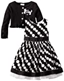 Youngland Little Girls Cardigan Dress