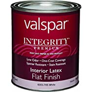 Integrity Latex Flat Interior Wall Paint And Primer in One Paint-INT FLAT WHITE