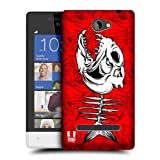 Head Case Designs Piranha Fish Bone Protective Snap-on Hard Back Case Cover for HTC Windows Phone 8S