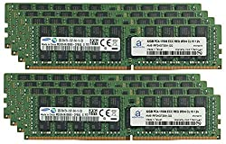 Samsung Original 256GB (8x32GB) Memory Upgrade for Servers DDR4 2133MHz PC4-17000 ECC Registered Chip 2Rx4 CL15 1.2V DRAM Adamanta