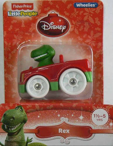 Fisher-Price Little People Wheelies Disney Rex - 1