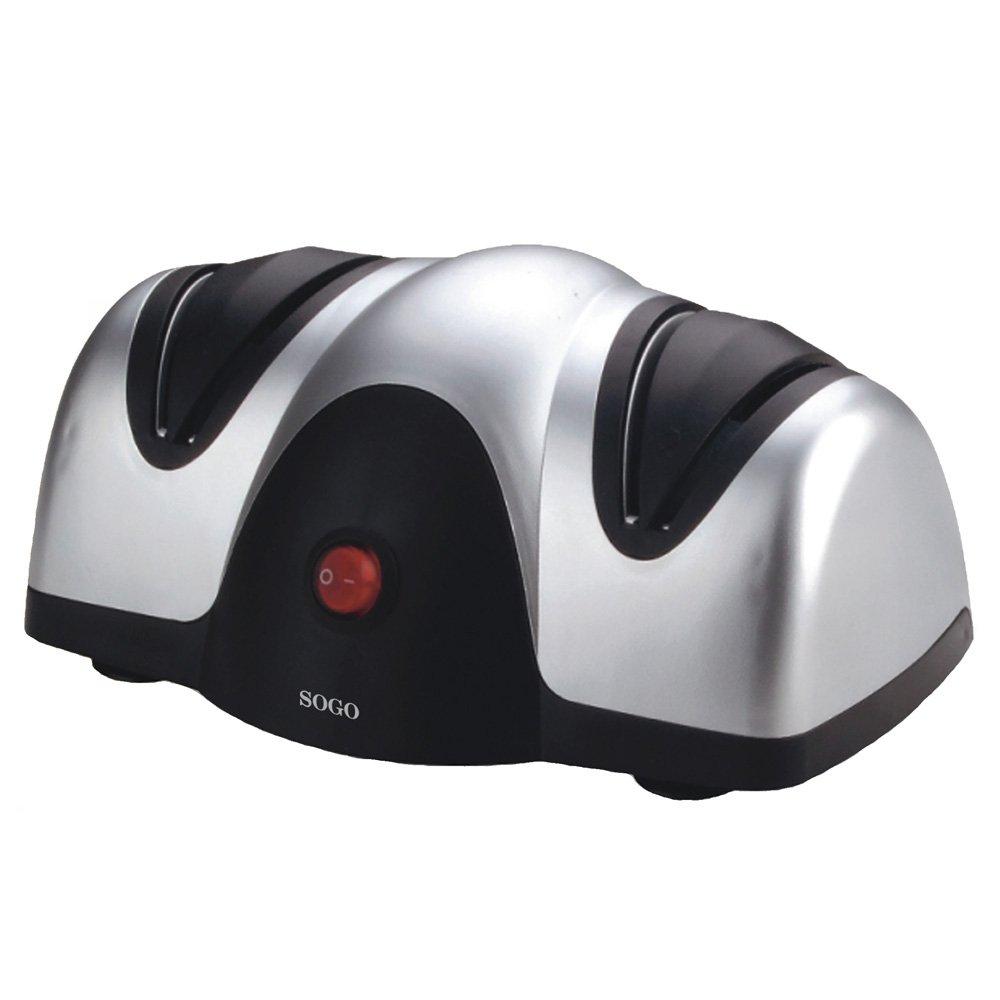 Sogo SS-13500 - Afilador de cuchillos eléctrico   Comentarios de clientes y más información