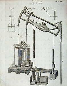 Encyclopaedia Britannica Hornblower Steam Engine