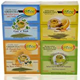 GTEE Green Tea Bags-Mint & Green Tea Bags-Chamomile & Green Tea Bags - Lemon & Ginger & Moringa Tea Bags (10 Tea...
