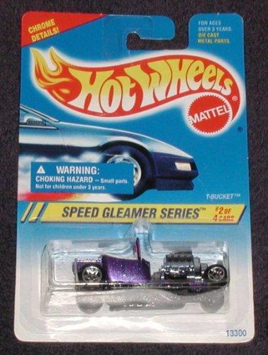 Mattel Hot Wheels Speed Gleamer Series, 1995 #313 T-Bucket, #2 of 4 - 1