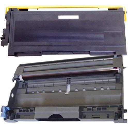 (1 Drum + 1 Toner) Inktoneram® Replacement Toner Cartridge & Drum For Brother Tn350 Dr350 Toner Cartridges & Drum Replacement For Brother Dr-350 Tn-350 Set