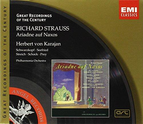Great Recordings Of The Century - Strauss, R.: Ariadne Auf Naxos / Karajan, Schwarzkopf, Streich, Seefried, et al