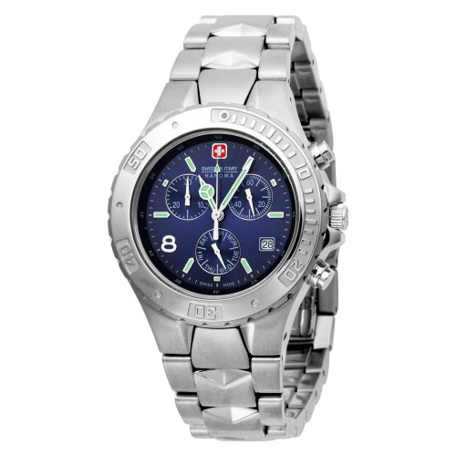 Swiss Military Hanowa Men's 06-5081-04-003 Peacemaker 316L Stainless Steel Blue Dial Watch