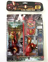 Marvel Heroes Stationery Supplies Set - Iron Man 11pcs School Supplies Value Pack