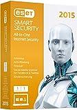 ESET Smart Security 2015 - 1 Computer (Minibox)