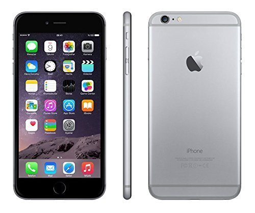 Apple discount duty free Apple iPhone 6 Plus 16GB Factory Unlocked GSM 4G LTE Smartphone, Space Gray (Certified Refurbished)