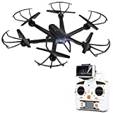 DBPOWER X600C FPV RC Hexacopter Drone with Wifi Camera Live Video Headless Mode 2.4GHz 4 Chanel 6 Axis Gyro RTF Left and Right Hand Mode Quadcopter
