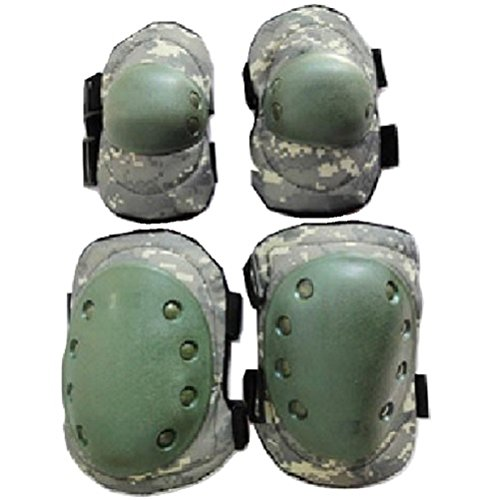 Storage pad left SWAT protector elbow focused protection elbow - 0 - knee on knee set only bag with (ACU Camo)