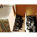 Pc Accessories 50-PACK IDC 2X3 6 Pins Dual Row Sockets for Flat Ribbon Cable, 6P 2.54mm FC Female Connectors (Color: Black)