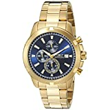 Invicta Men's 19223SYB Specialty Analog Display Quartz Gold Watch
