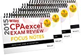 Wiley CPAexcel Exam Review 2015 Focus Notes, 4-Volume Set