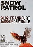 Snow Patrol Fallen Empires 2012 - Concert Poster Concertposter