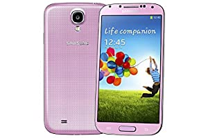 Samsung Galaxy S4 White I9500 Sim Free European Version Smartphone Factory Unlocked For all GSM networks (32GB INTERNAL MEMORY, Pink)