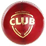SG Club Leather Balls, Pack Of 12 (Red)