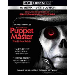 Puppet Master: The Littlest Reich [4K Ultra HD + Blu-ray]