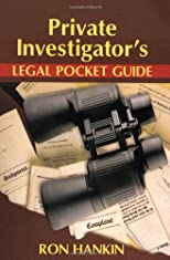 Private Investigators Legal Pocket Guide