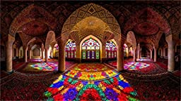 Iran Architecture Mosques 20X30 Inch Poster Print