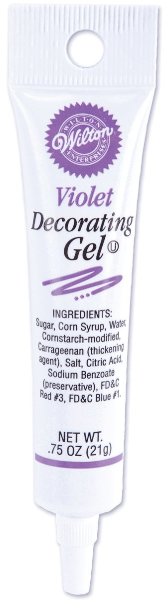 Wilton Tube Decorating Gels, 10 Colors