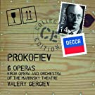 Prokofiev :  6 Op�ras (Coffret 14 CD)