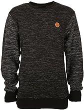 Billabong sweat-shirt pour homme fairmont Large Noir - noir