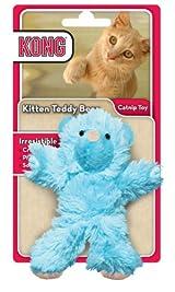 KONG KITTEN TEDDY BEAR Catnip Wrestle Toy for Cats (CE42)