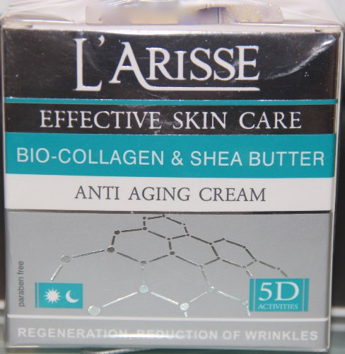 L'Arisse Bio-Collagen & Shea Butter Anti-Aging Cream 1.7 Fl Oz. egomania shea nut butter conditioner