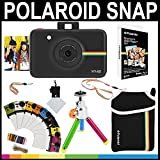 Polaroid-Snap-Instant-Camera-Black-2x3-Zink-Paper-20-Pack-Neoprene-Pouch-Photo-Frames-Accessory-Bundle