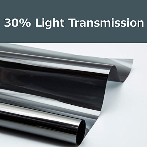 30% shade color 36 Inches by 10 Feet Window Tint Film Roll, for privacy and heat reduction (Tint Windows Roll compare prices)