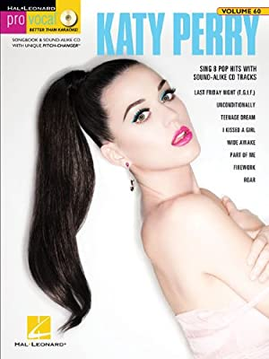 Katy Perry: Pro Vocal Women's Edition Volume 60 (Book/CD)