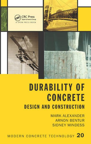 Durability of Concrete: Design and Construction Modern Concrete Technology) PDF Download Free