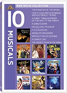 Musicals 10-Pack (Phantom of the Opera / How To Succeed in Business/ A Funny Thing Happened on the Way to the Forum / A Song Is Born / Hallelujah, I'm a Bum / It's a Pleasure / Absolute Beginners / Without You I'm Nothing / A Chorus Line / Saddest Music In the World)