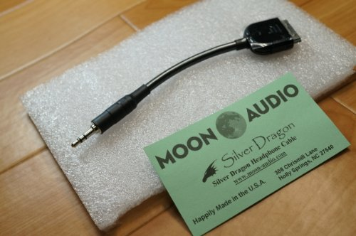 Moon Audio Silver Dragon V3 Apple Dock Cable Replacement Upgrade Cable Ipad Iphone Ipod, Touch (Not For Lightning Connector)