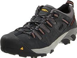 KEEN Utility Men\'s Detroit Low Steel Toe Shoe,Peacoat,12 D  US