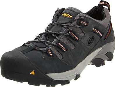 KEEN Utility Men's Detroit Low Steel Toe Shoe,Peacoat,7 D  US