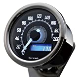 デイトナ(Daytona) VELONA 電気式スピードメーター200km/h バフ/ホワイトLED 92248