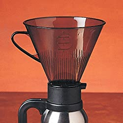 RSVP Manual Drip Coffee Filter Cone for Carafes or Thermos from RSVP