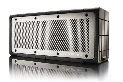 BRAVEN 855S Wireless Bluetooth Speaker  -Black/Gray