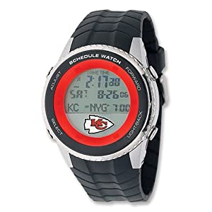 Mens NFL Kansas City Chiefs Schedule Watch by 14k co.